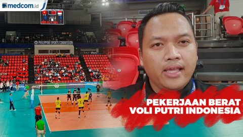 Pekerjaan Berat Tim Voli Putri Indonesia