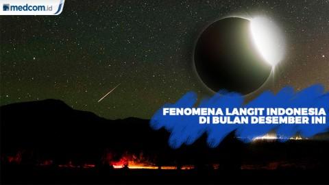 Hujan Meteor hingga Gerhana Matahari Cincin
