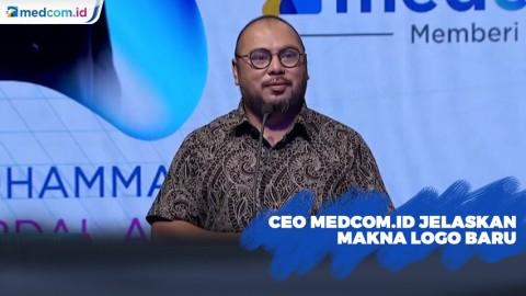 CEO Medcom.id Jelaskan Makna Logo Baru