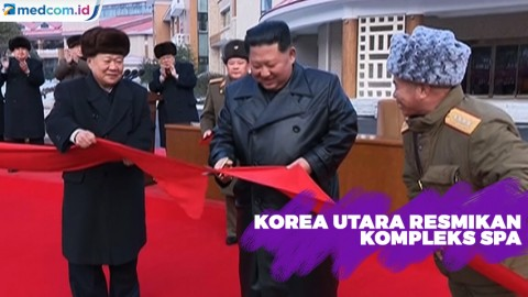 Kim Jong-un Resmikan Kompleks Spa
