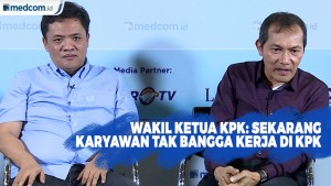 Wakil Ketua KPK: Sekarang Karyawan Tak Bangga Kerja di KPK
