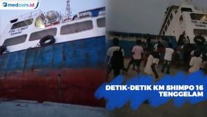 Detik-detik KM Shimpo 16 Tenggelam di Lembata NTT