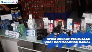 BPOM Ungkap Penjualan Obat dan Makanan Ilegal Secara Online