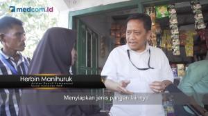 Kunjungan Sesditjen dan Pemberian Bantuan Bahan Pangan Lokal di Sulawesi Selatan