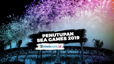 SEA GAMES 2019 Akhirnya Resmi Ditutup