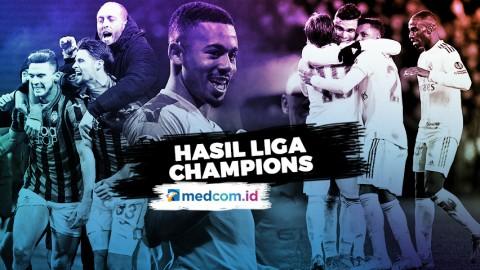 Hasil Liga Champions, Atalanta Menemani City ke 16 Besar