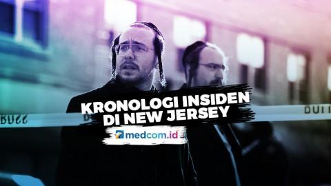 Kronologi Insiden Penembakan di New Jersey