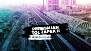 Tol Layang Jakarta-Cikampek Diresmikan