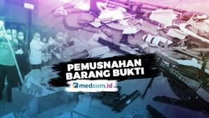 Pemusnahan Barang Bukti Kejaksaan Negeri Jakarta Utara