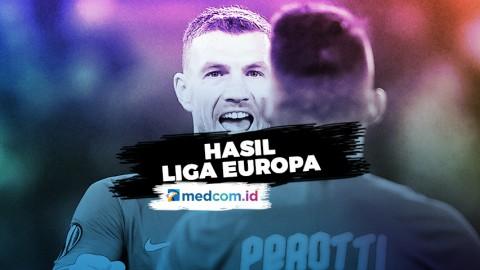 Hasil Lengkap Liga Europa:Roma Lolos ke Babak 32 Besar