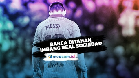 Bertemu Real Sociedad, Barca Harus Rela Berbagi Poin