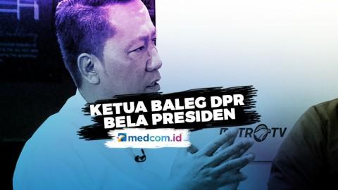 Ketua Baleg DPR Bela Presiden Soal Hukuman Mati Koruptor