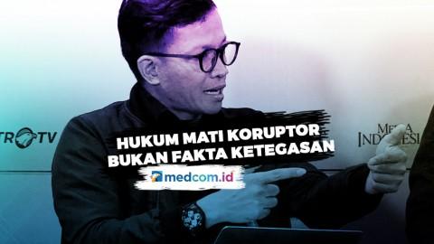 Usman Hamid: Hukum Mati Koruptor Bukan Fakta Ketegasan!