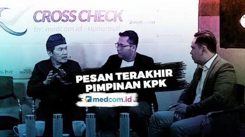 Jelang Lengser, Ini Pesan Terakhir Pimpinan KPK ke Jokowi