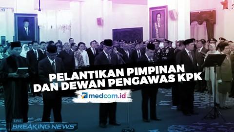 Pelantikan Pimpinan & Dewan Pengawas KPK