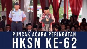 Puncak Acara Peringatan HKSN ke-62
