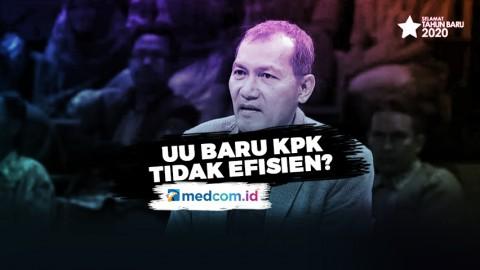 Saut Situmorang: UU Baru KPK Tidak Efisien Memberantas Korupsi
