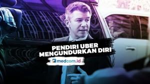 Travis Kalanick Tinggalkan Uber, Seluruh Saham Dijual