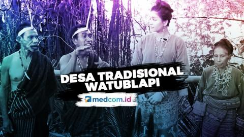 Berkunjung ke Desa Tradisional Watublapi