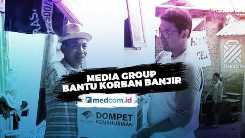 Media Group Salurkan Bantuan Untuk Korban Banjir