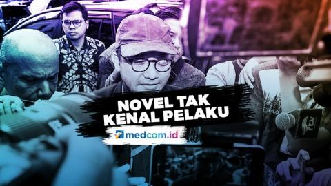 Usai Diperiksa, Novel Mengaku Tak Kenal Pelaku