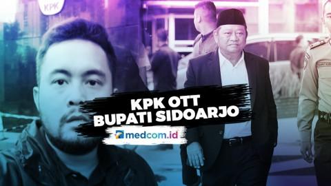 KPK lakukan OTT pada Bupati Sidoarjo