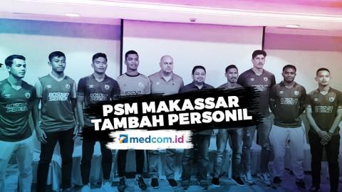 PSM Makassar Tambah Personil