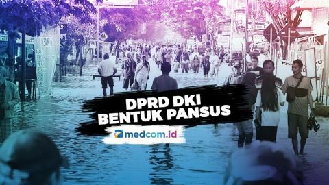 DPRD DKI Bentuk Pansus Atasi Banjir