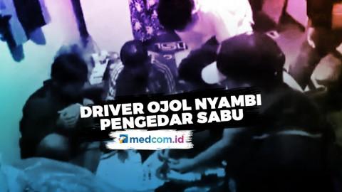 Driver Ojol Ditangkap karena Edarkan Sabu