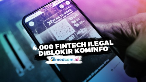 4.000 Fintech Ilegal Diblokir Kominfo