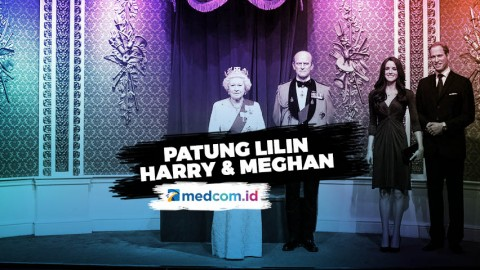Patung Lilin Harry dan Meghan Disingkirkan dari Madame Tussauds