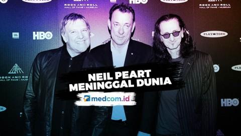 Drummer Rush, Neil Peart Meninggal Dunia di Usia 67 Tahun