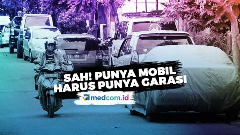 Sah! Pemilik Mobil di Depok Harus Punya Garasi