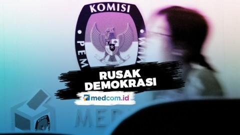 Highlight Primetime News - Korupsi Penyelenggara Pemilu Rusak Demokrasi