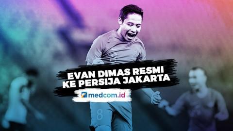 Persija Resmi Rekrut Evan Dimas Darmono