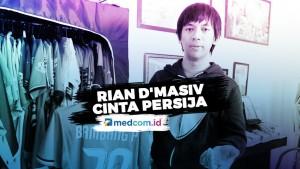 Kecintaan Rian D'Masiv Terhadap Persija Jakarta