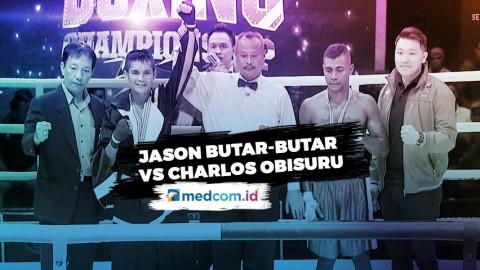 Hantam Charlos Obisuru, Jason Butar-Butar Menang TKO 3 Ronde