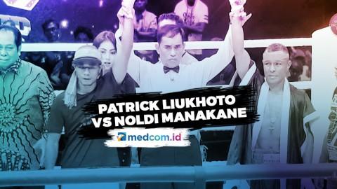 Bertarung 12 Ronde, Patrick Liukhoto Draw Melawan Noldi Manakane