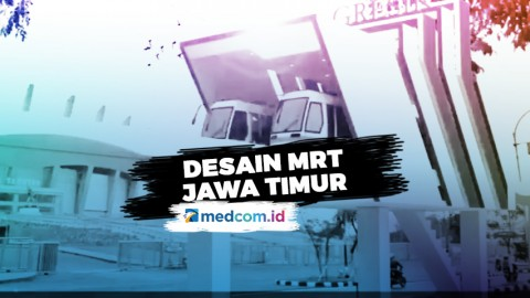 Beginilah Penampakan Desain MRT Jawa Timur