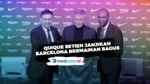 Latih Barcelona, Setien Janjikan Permainan Bagus