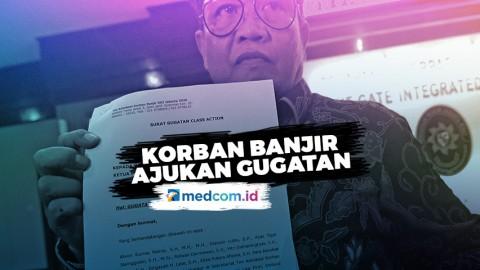 Korban Banjir Jakarta Ajukan Gugatan ke Pemprov DKI