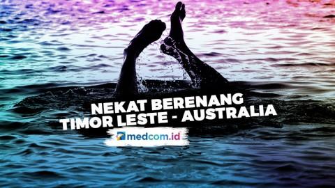Tak Punya Uang, WNA Nekat Berenang dari Timor Leste ke Australia