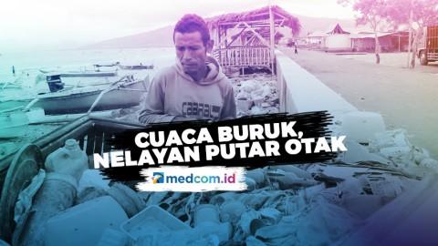 Cuaca Buruk, Nelayan Putar Otak Olah Sampah Plastik