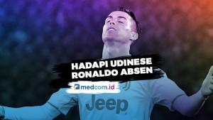 Hadapi Udinese, Ronaldo Absen Akibat Sinusitis