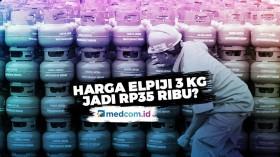 Harga Elpiji 3 kg Diperkirakan Rp35 Ribu