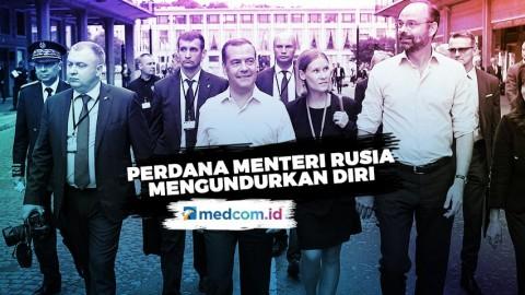 Mengejutkan PM Rusia Mengundurkan Diri