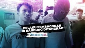 Pembacok Pengendara Motor di Bandung Ditangkap