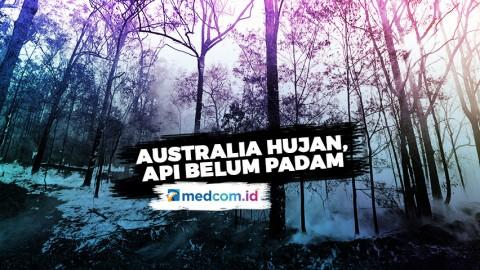 Diguyur Hujan, Masih Ada 30 Titik Api di Australia