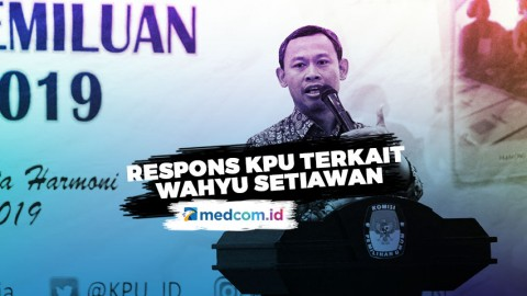 Respons KPU Terkait Dicopotnya Wahyu Setiawan