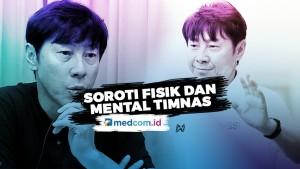 Shin Tae-yong Soroti Fisik dan Mental Timnas Indonesia